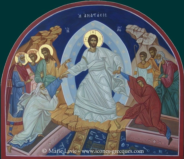 The icon of the Holy Resurrection of Jesus Christ - Anastasis - Η ...